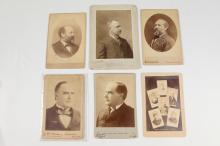 PRESIDENTIAL PHOTOGAPHS INCLUDING JAMES GARFIELD, circa 1881-1944.