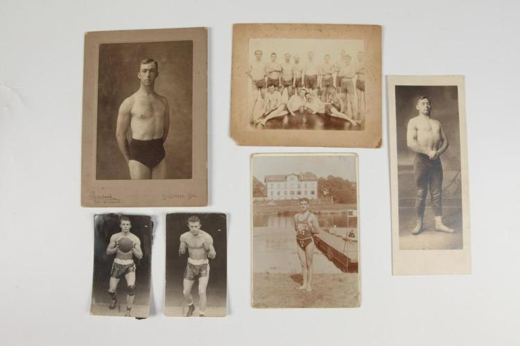 PHOTOGRAPHS OF MALE ATHLETES, GAY INTEREST, early 20th century.