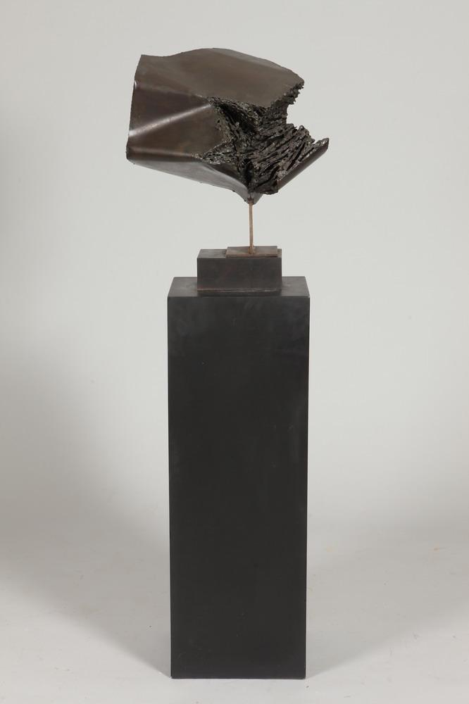 PIERLUCA DEGLI INNOCENTI (Italian, 1926-1968). ABSTRACT, bronze.