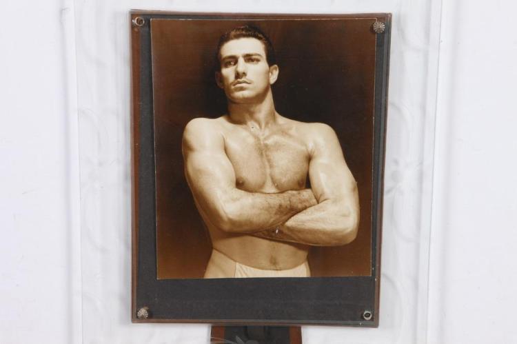 KAROLL OF HAVANA, GAY INTEREST, 1940's-50's. - 8 in. x 6.75 in.; framed, 13 in. x 11 in.