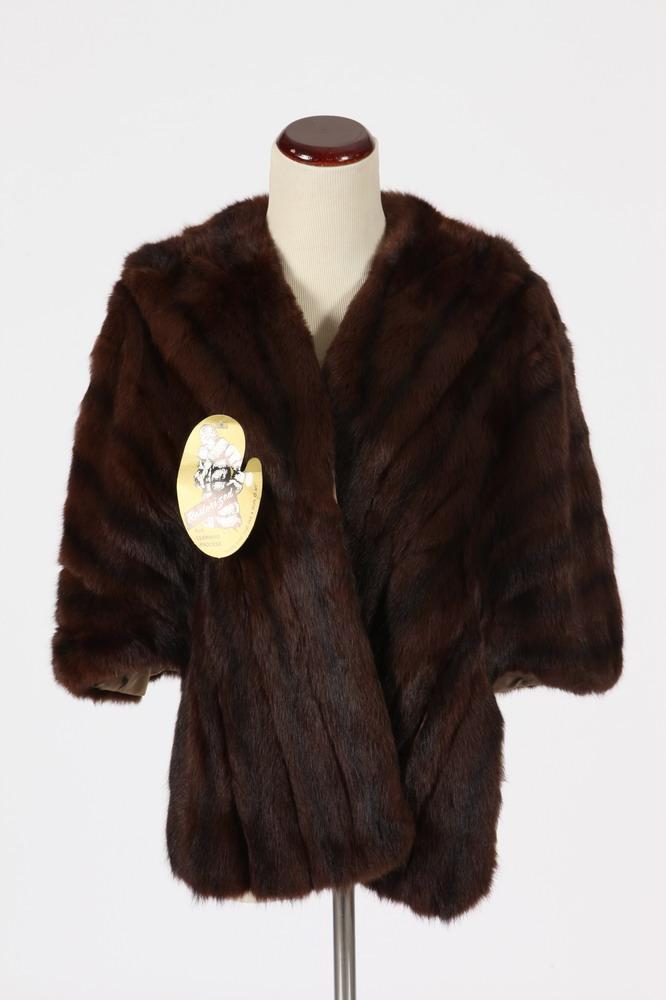 BROWN FUR STOLE,