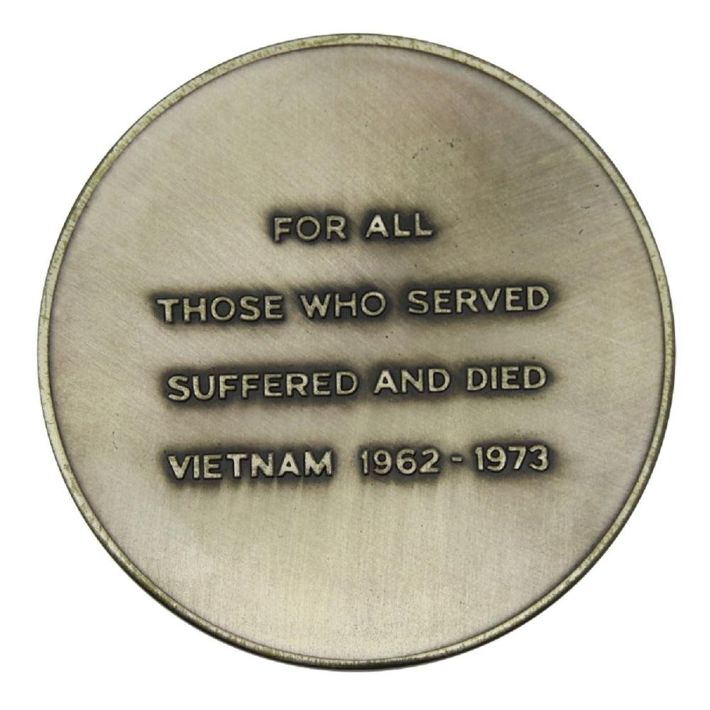 Australia. Medallion 'For all those who served suffered and died/ Vietnam 1962-1973/ A National Memorial to the Australian Vietnam Forces'. Scarce