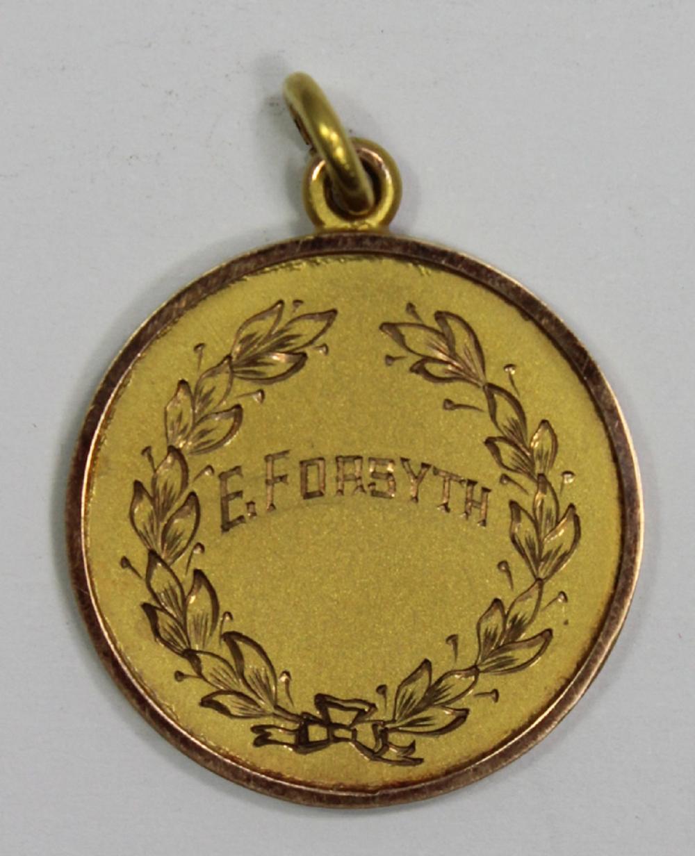 WWI Australia. 9ct Gold Fob