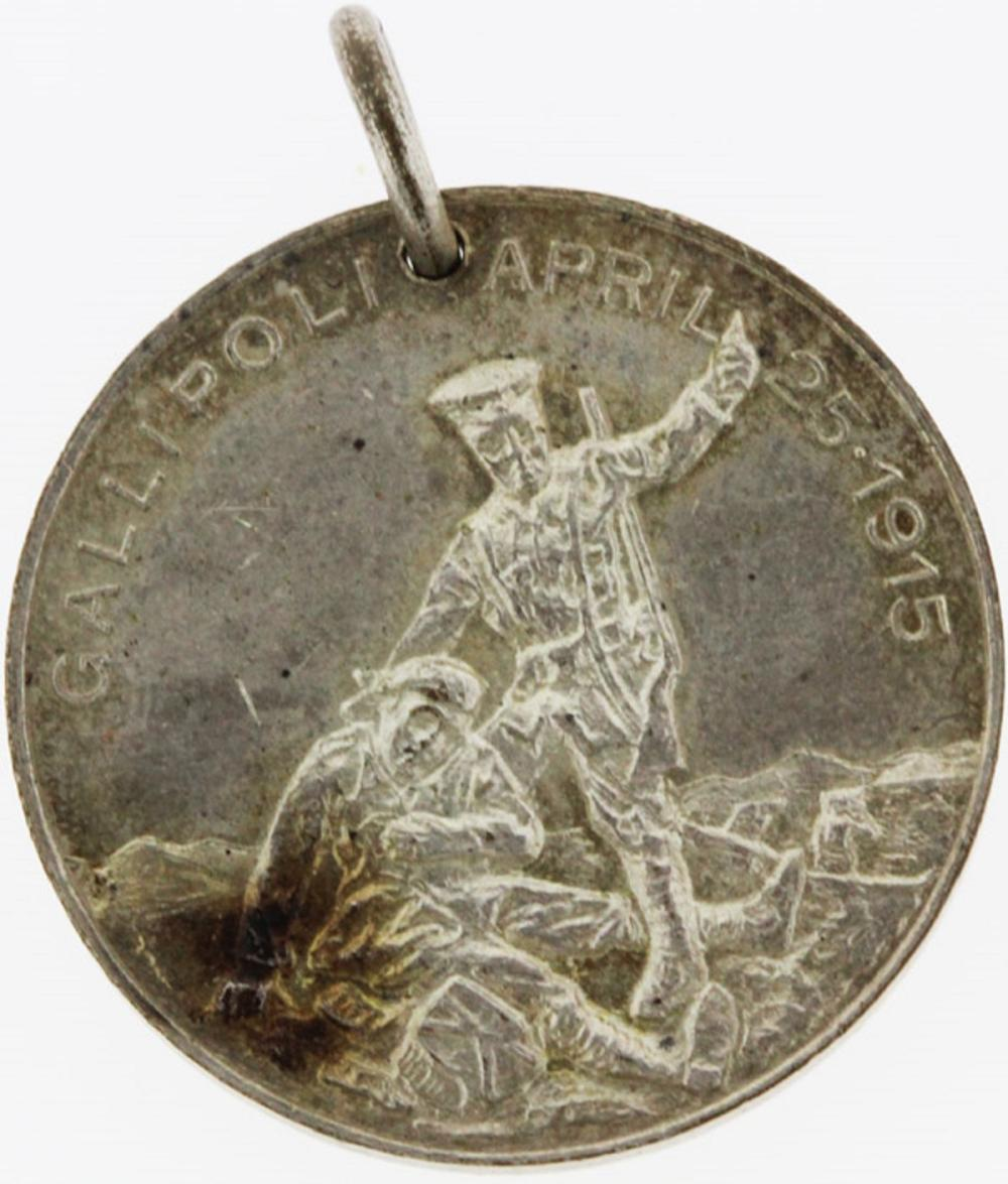 """WWI Australia. Medalet issued to commemorate the first """"Australia Day"""", (July 30th 1915), Uncirculated"""
