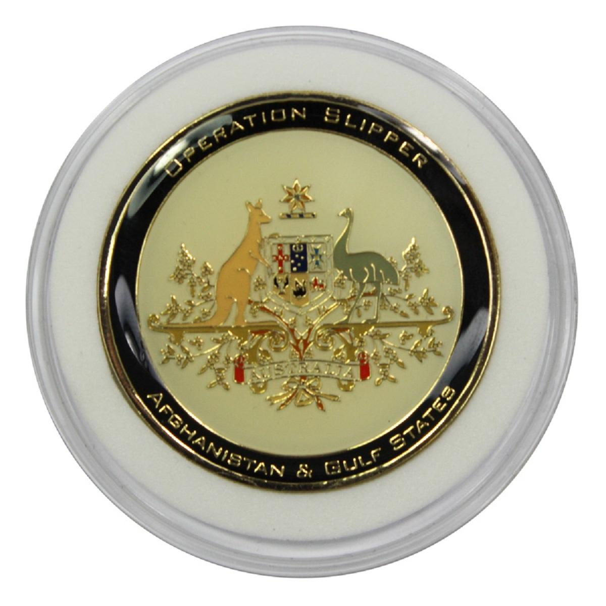 Australia. Limited official memento 'Operation Slipper' Afghanistan, July 2011 - April 2012