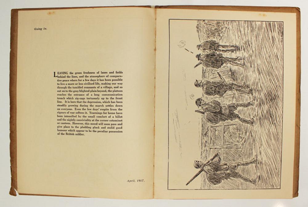 WWI Australia. Original 1918 published copy of