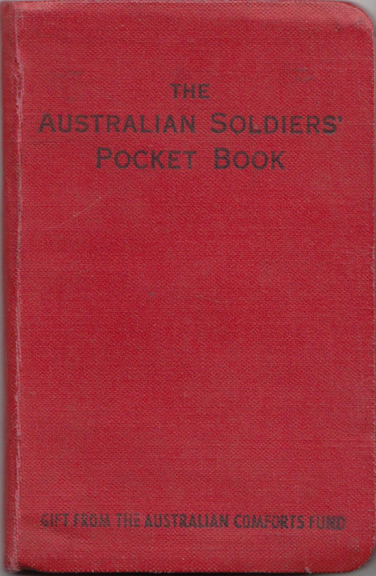 WWII. Australian Soldiers' Pocket Book, 1943, Very Fine