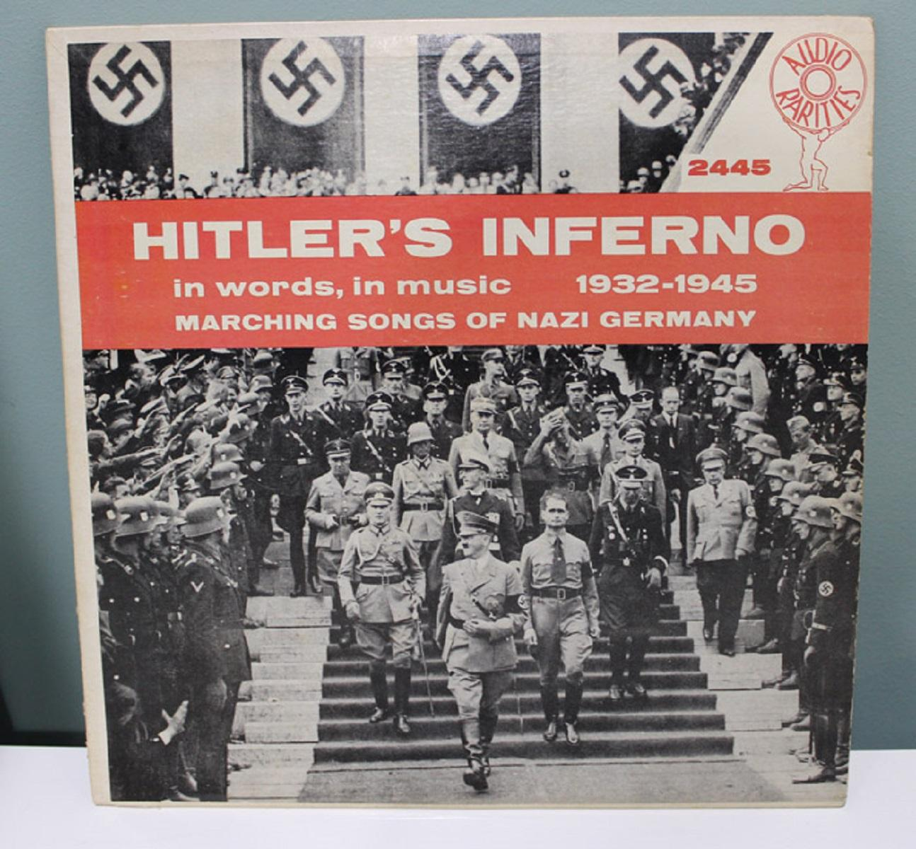 """""""Hitler's Inferno (Vol. 1) - In words, in music - 1932 -1945"""" LP Record"""