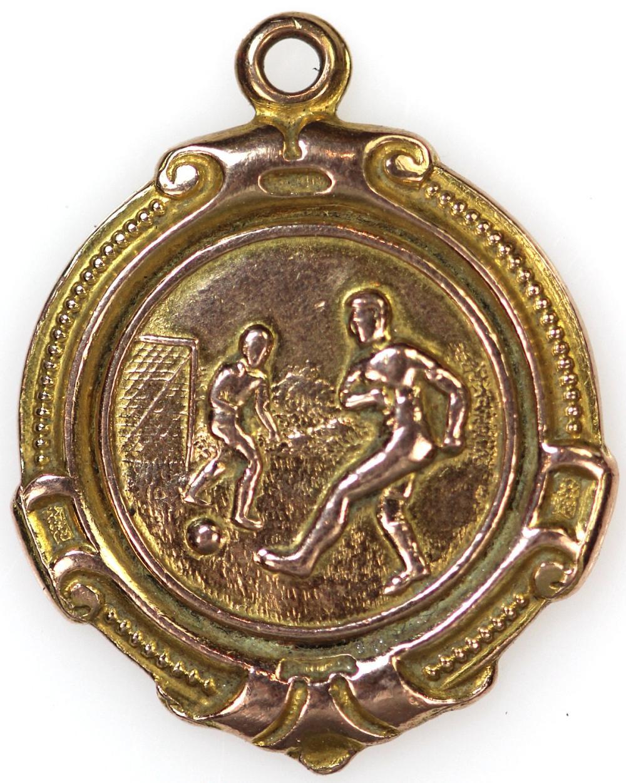 Great Britain. Isle of Man Football Association 'Winners' Medal 1929-30