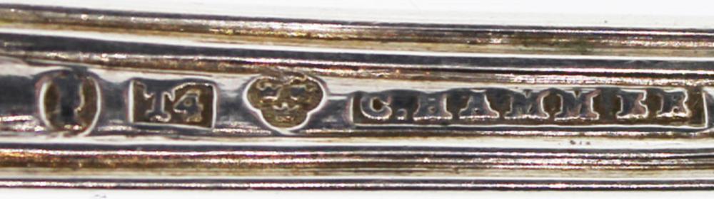 Antique Swedish (0.830) Silver Ladle