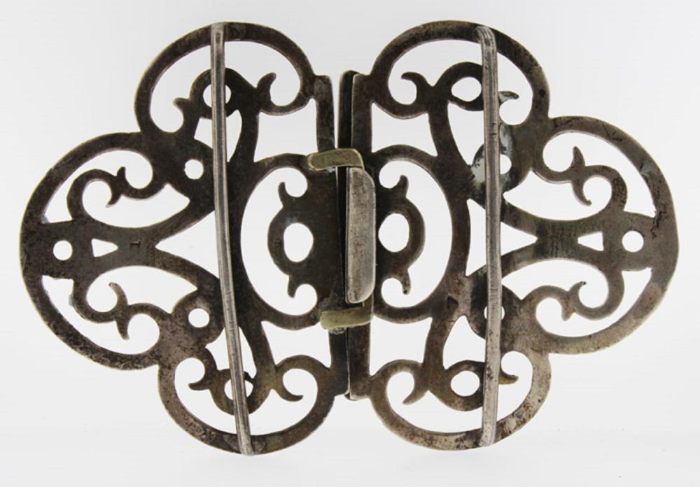 English Silver (0.925) Nurse's Buckle