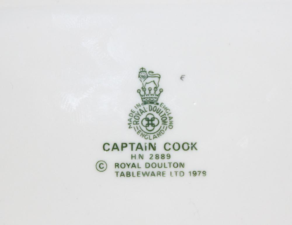 Royal Doulton Figurine of 'Captain Cook'