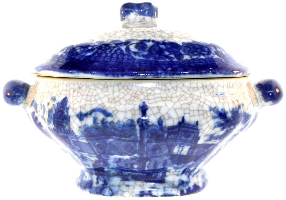 Small 19th Century Chinoises-design Tureen