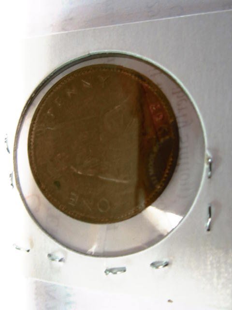 1963 FOREIGN PENNY