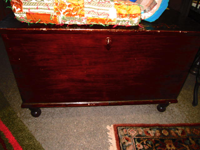 POPULAR DOVE TAILED BLANKET CHEST