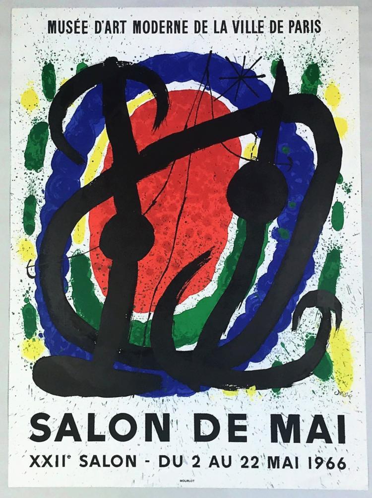 Miro salon de mai 1966 for Salon de mai