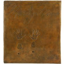 Marilyn Monroe Grauman's Chinese Theatre Artist Proof 002 Limited Edition Bronze