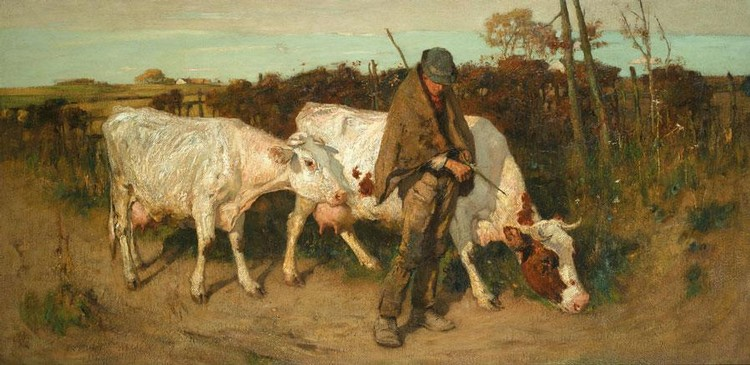 THOMAS AUSTEN BROWN, ARSA, RI, RSW 1859-1924