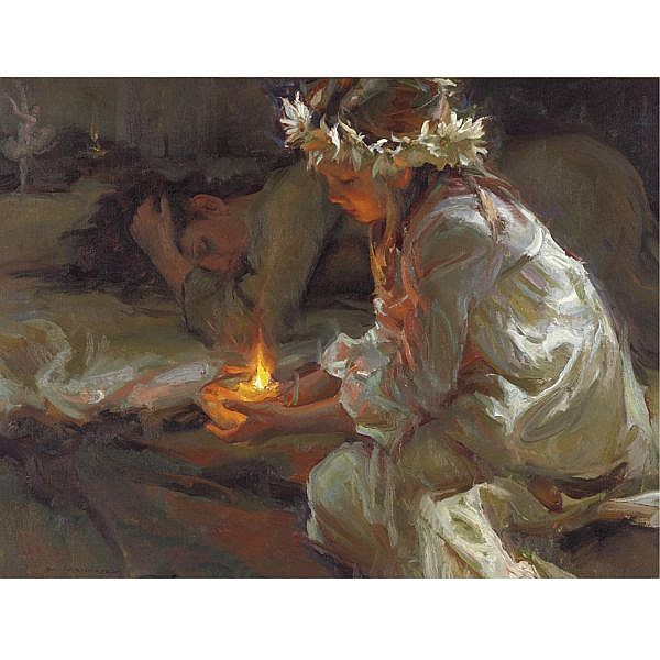 Dan Gerhartz , Dawn of Hope oil on canvas