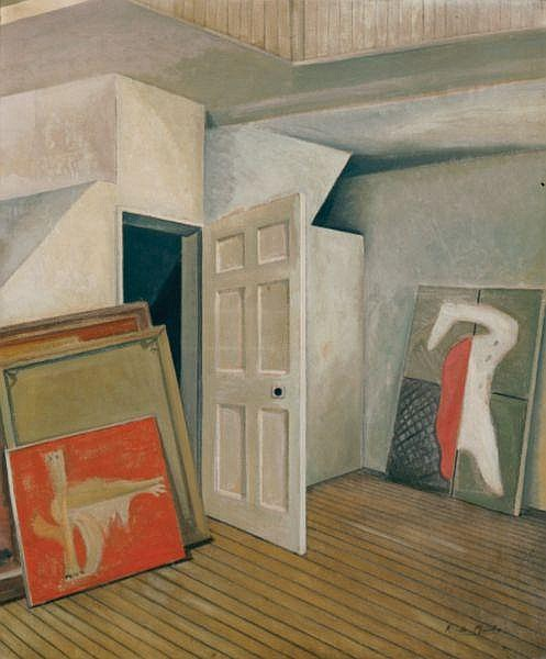 - ROY DE MAISTRE , ROY DE MAISTRE Australian 1894-1968 FRANCIS BACON'S STUDIO   Oil on canvas
