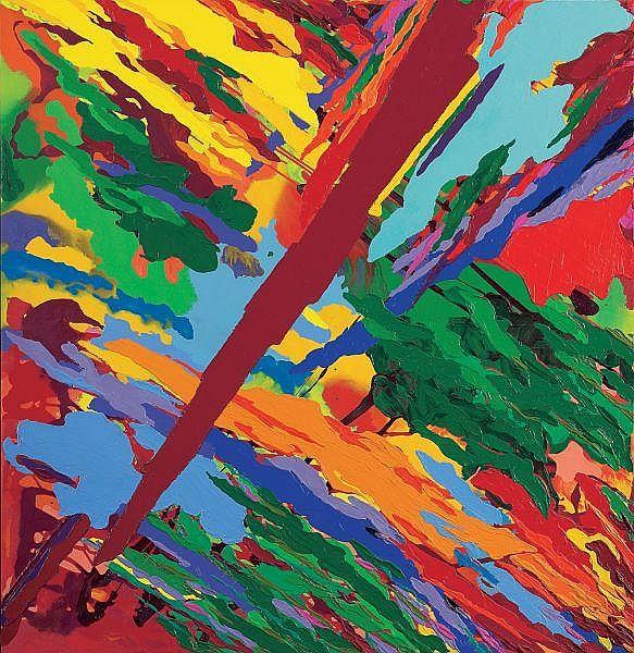 - RON ROBERTSON-SWANN , RON ROBERTSON-SWANN Australian B. 1941 TEARAWAY   Synthetic polymer paint on canvas