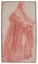 JACOPO CHIMENTI, CALLED JACOPO DA EMPOLI | A man standing, to right