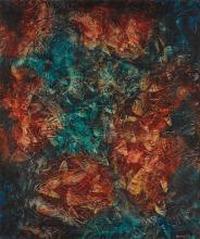 AHMED BEN DRISS EL YACOUBI | Red Dreaming of Blue
