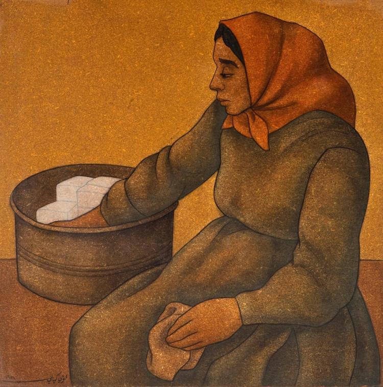 LOUAI  KAYYALI | Untitled (Lady)