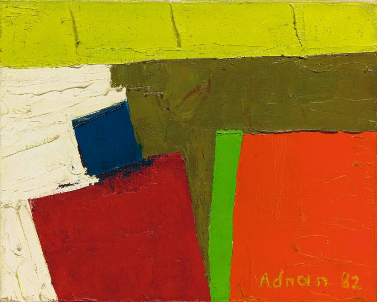 ETEL ADNAN | California