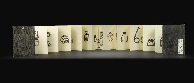 ETEL ADNAN   Untitled (Artist's Book)