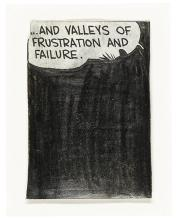 TONY LEWIS | Untitled (...And Valleys of Frustration and Failure)