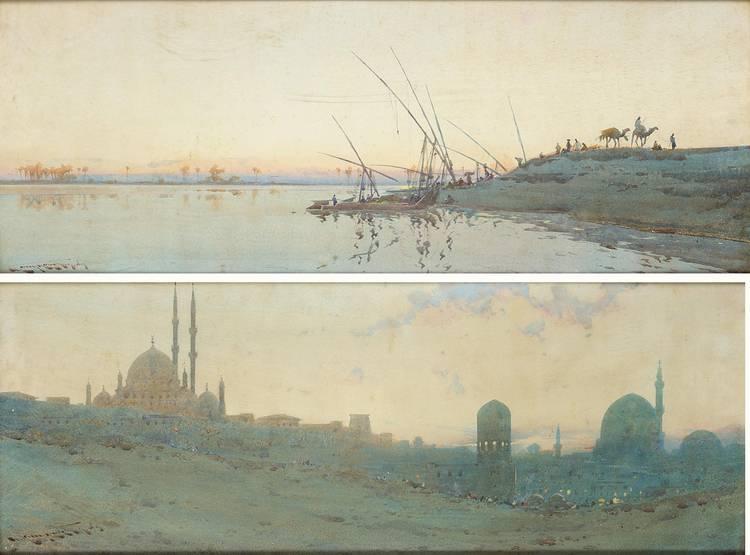 AUGUSTUS OSBORNE LAMPLOUGH, BRITISH 1877-1930