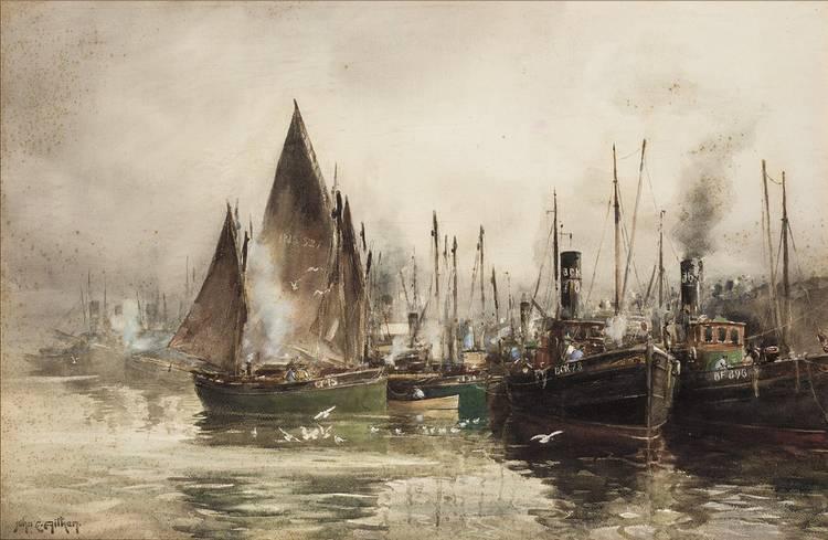 JOHN ERNEST AITKEN, BRITISH 1881-1957