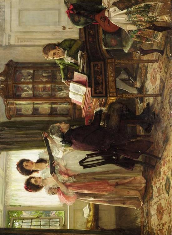 MARGARET ISABEL DICKSEE, BRITISH 1858-1903