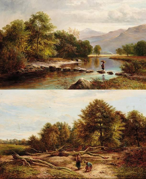 GEORGE TURNER, BRITISH 1843-1910