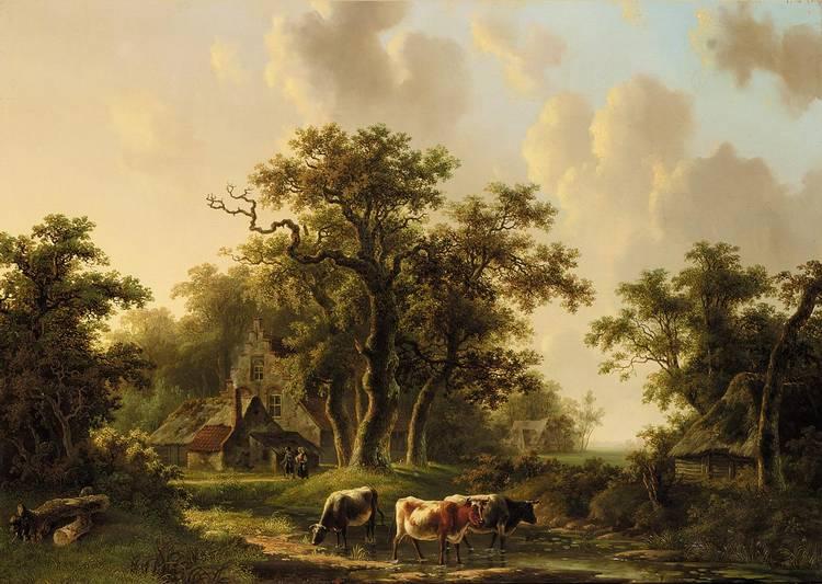 WILLEM DE KLERK, DUTCH 1800-1876