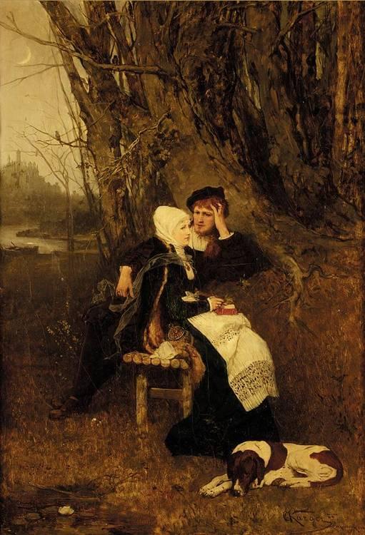 KARL KARGER, AUSTRIAN 1848-1913