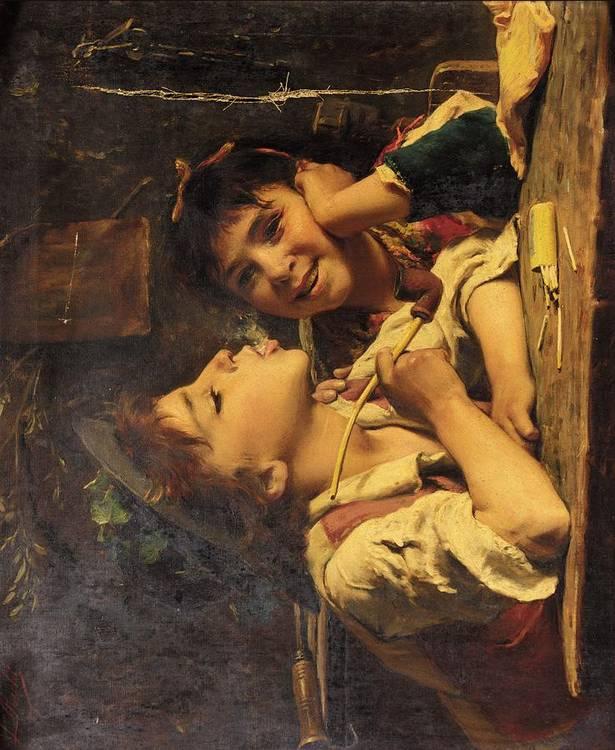 LUIGI BECHI, ITALIAN 1830-1919