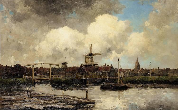 JAN VAN COUVER, DUTCH 1836-1909