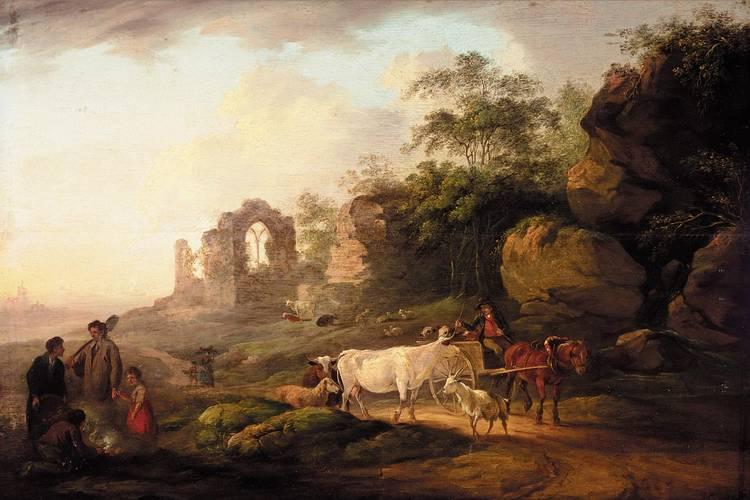 PETER LA CAVE, BRITISH 1769- 1811