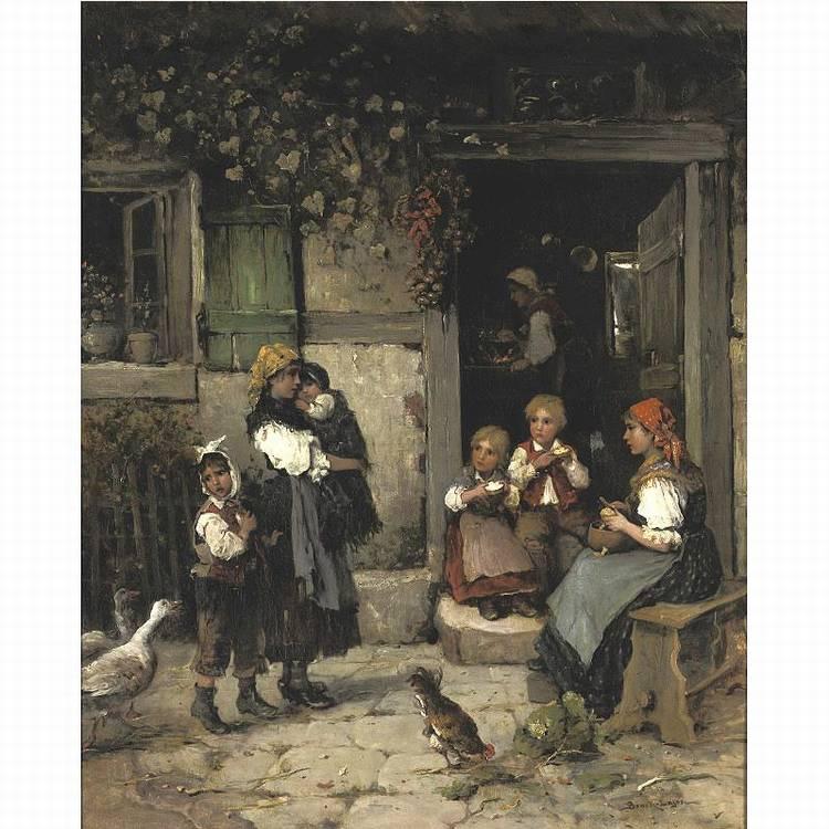LAJOS BRUCK 1846-1910