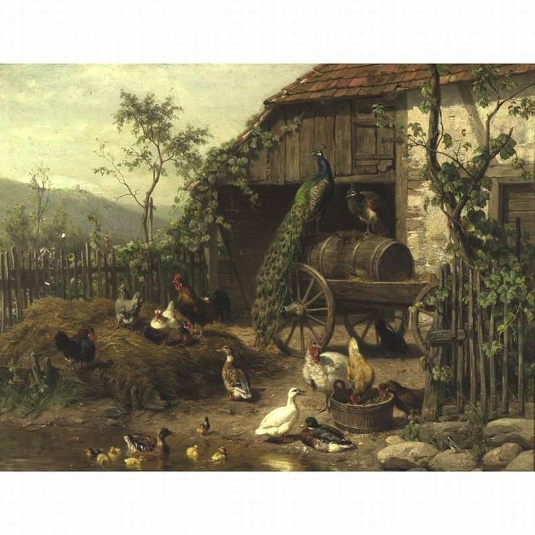 CARL JUTZ 1838-1916
