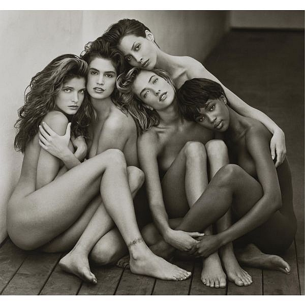 Herb Ritts 1952-2002 , 'stephanie, cindy, christy, tatjana, naomi, hollywood'