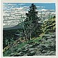NEIL WELLIVER B. 1929 LANDSCAPES each sheet 1016 by 1016 mm 40 by 40 in Five screenprints in colors, from the set of six, each signed in pencil and numbered 107/144, on Buckeye 80 lb. cover paper, from the Landscapes portfolio, published by HKL,, Neil Gavin Welliver, Click for value