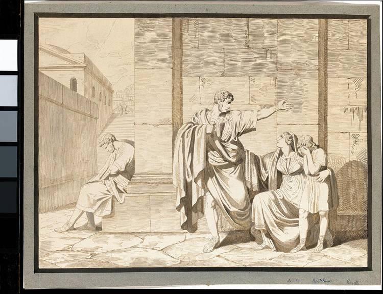 * BARTOLOMEO PINELLI ROME 1781 - 1835