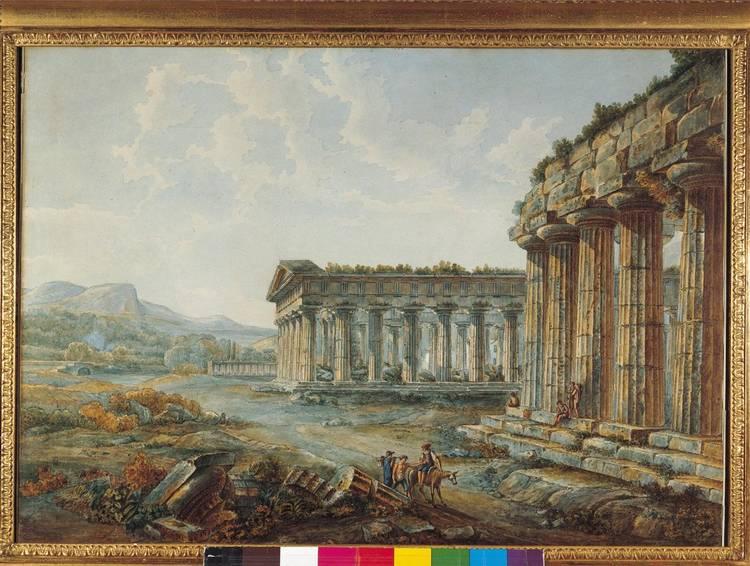 * LOUIS-FRANÇOIS CASSAS AZAY-LE-FERON 1756 - 1827 VERSAILLES