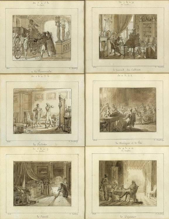 * JEAN-BAPTISTE ISABEY NANCY 1767 - 1855 PARIS