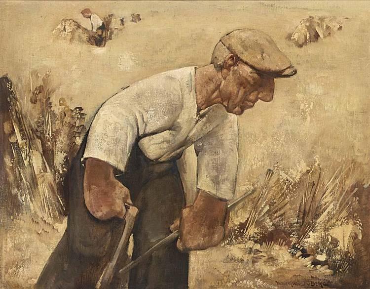 WILLEM VAN DEN BERG DUTCH 1886-1970