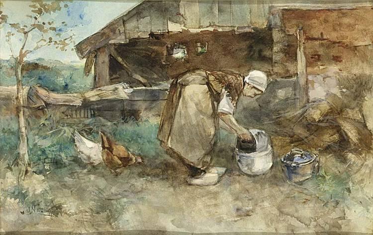 WILLEM VAN DER NAT DUTCH 1864-1929