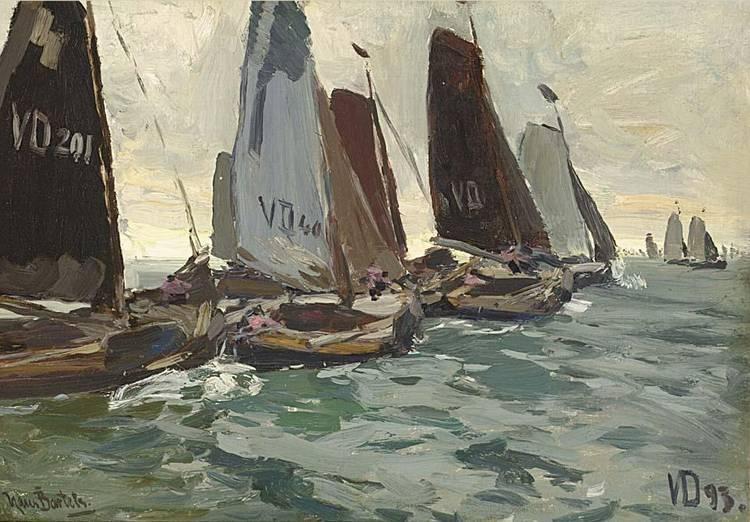 HANS VON BARTELS GERMAN 1856-1913